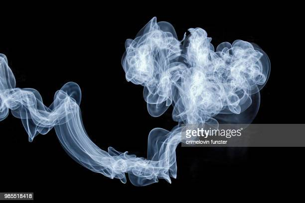 electroluminescent genie - smoke stock photos and pictures