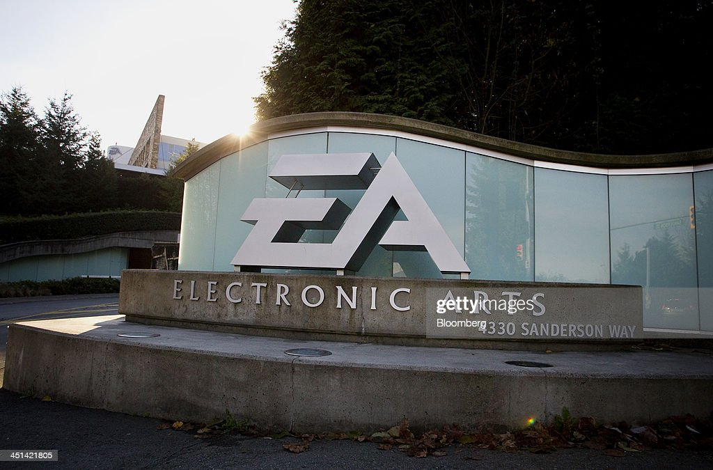 Electronic Arts Inc. signage stands at the company's campus in News Photo - Getty Images