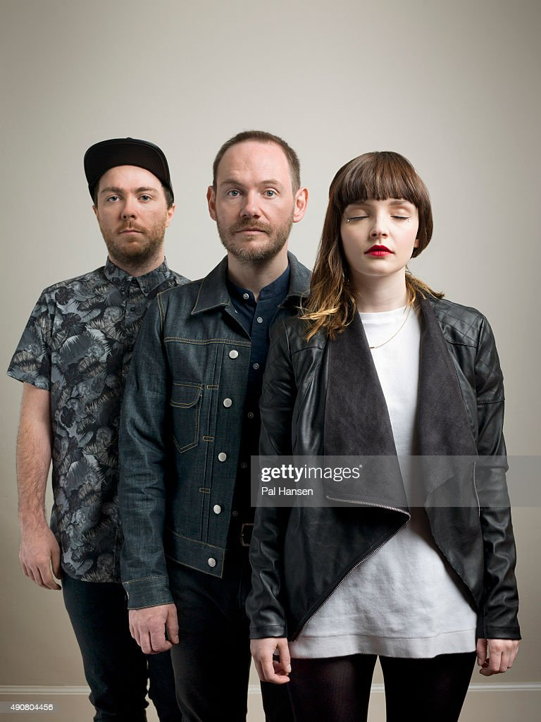 Electronic band Chvrches are photographed for Under the Radar magazine on June 23, 2015 in Glasgow, Scotland.