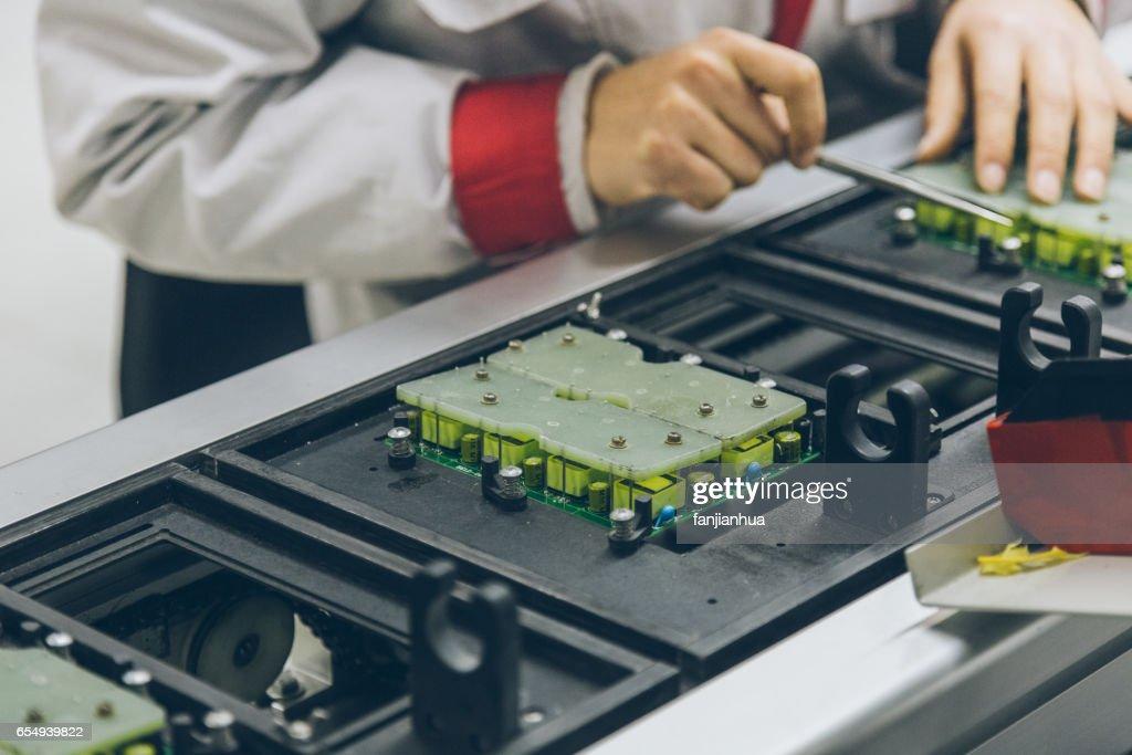 Electronic Circuit Board : Stock Photo