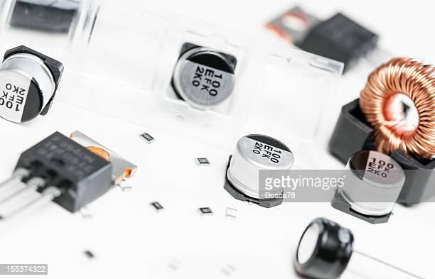 Des composants électroniques