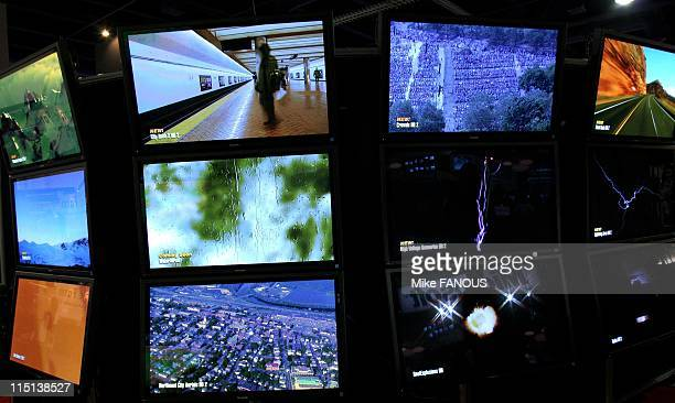 Electronic Media Show in Las Vegas United States on April 25 2006 Artbeats 'RoyaltyFree' stock footage at the Las Vegas Convention Center