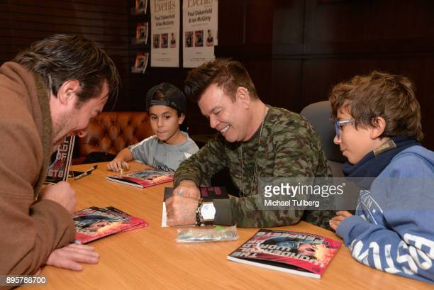 Electronic music artist Paul Oakenfold attends a signing event for his new graphic novel 'The Wonderful World Of Perfecto' at Barnes Noble at The...