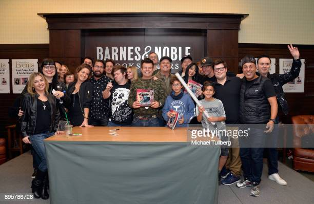 Electronic music artist Paul Oakenfold graphic artist Ian McGinty and guests attend a signing event for Oakenfold's new graphic novel 'The Wonderful...