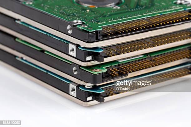 electronic scrap hard drive
