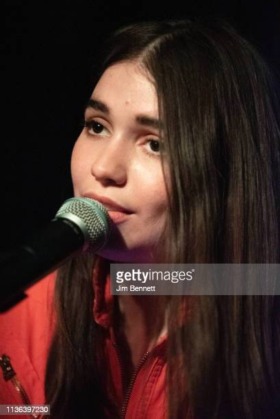 Electronic singer/songwriter Flavia performs live on stage during the 2019 SXSW Conference and Festival at Mohawk Indoors on March 16 2019 in Austin...
