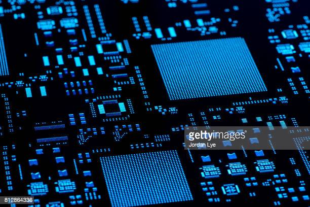 electronic stencil board - cpu stock pictures, royalty-free photos & images