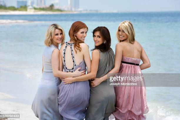 Electronic string quartet Escala are photographed for You Magazine on May 1 2009 in Miami Florida PUBLISHED IMAGE