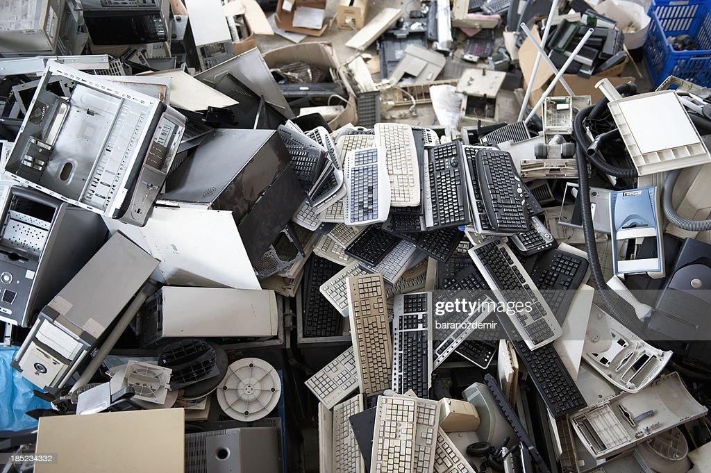 Electronics Recycling : Stock Photo