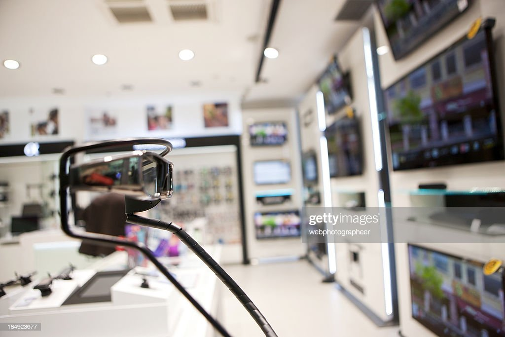 Electronics store : Stock Photo