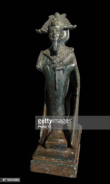 Electrum amulet showing the Egyptian god AmonRa 715332 BC