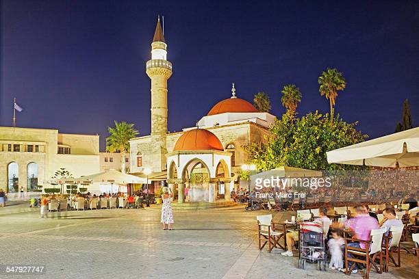 Eleftherias Square and Defterdar Moschee, Kos Town