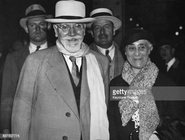 Elefthérios Venizélos photographié après son échec à Athènes Grèce en 1935