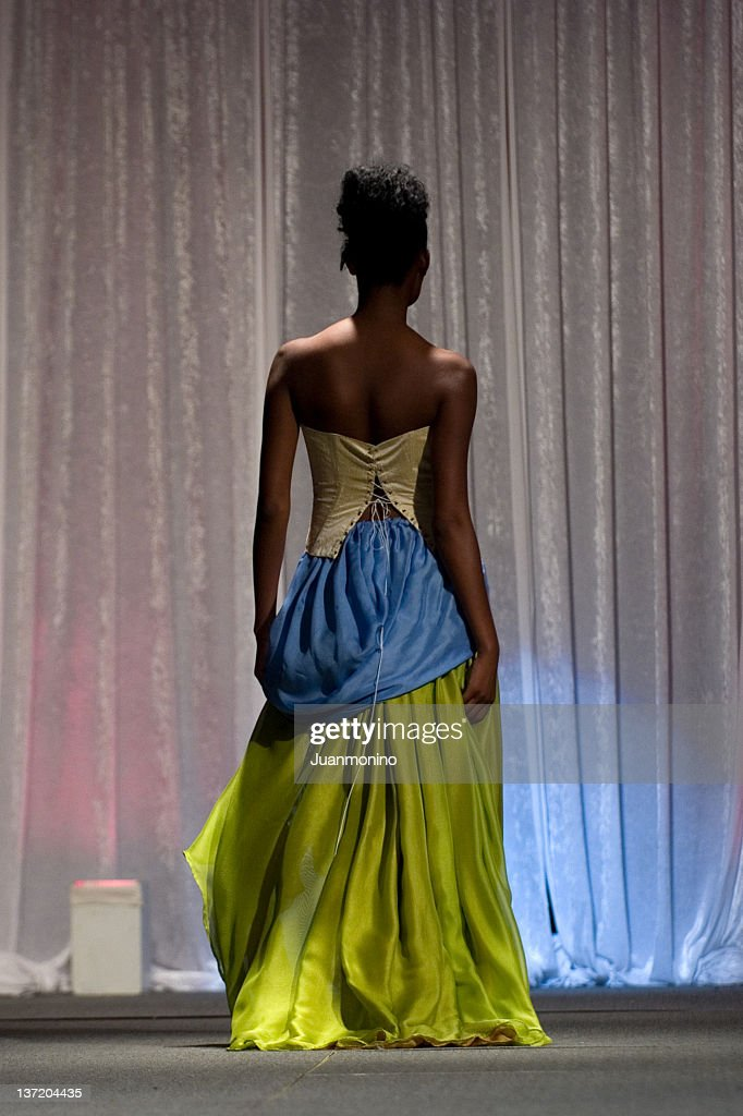 Elegance from behind : Stock Photo