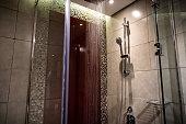 elegant classy looking bathroom