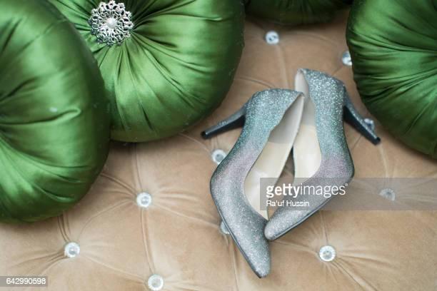 Elegant beautiful wedding Heel women's shoe