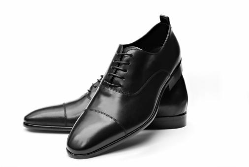 Elegant Black Leather Shoes 172417586
