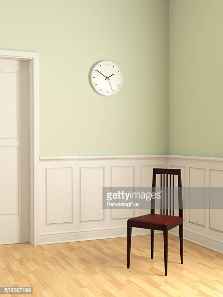 Elegant Chair in Empty Room XL