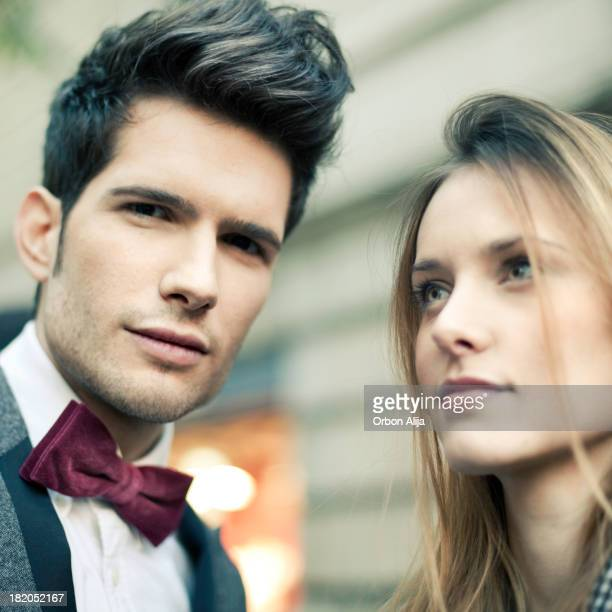 優雅なカップル