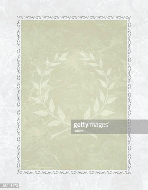 Elegant diploma background