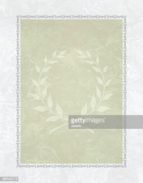 diploma di sfondo elegante