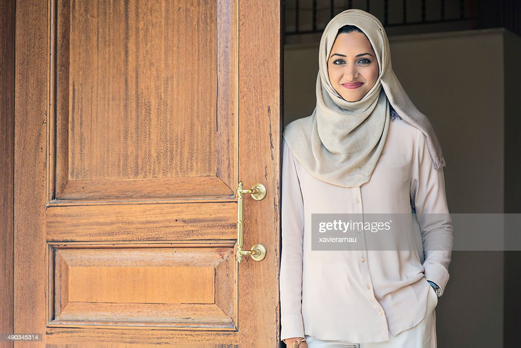 Elegant Emirati woman : Stock Photo