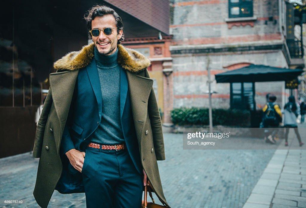 Elegant gentleman : Stockfoto