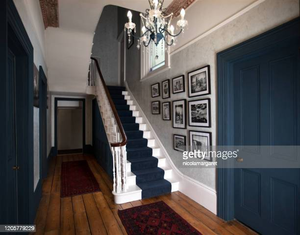 elegant hall - 19th century style stock pictures, royalty-free photos & images