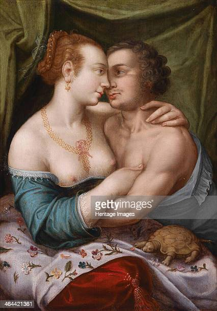 Elegant Loving Couple ca 1600 From a private collection