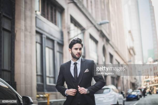 Eleganten Mann