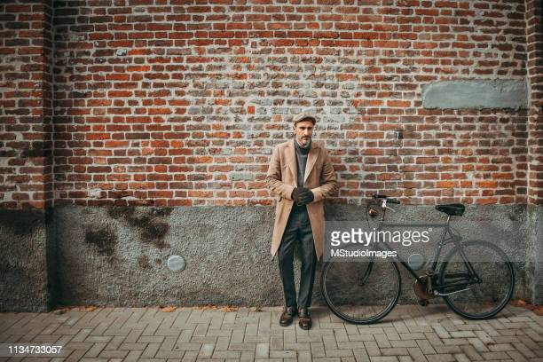 elegant mature man. - personal accessory stock pictures, royalty-free photos & images