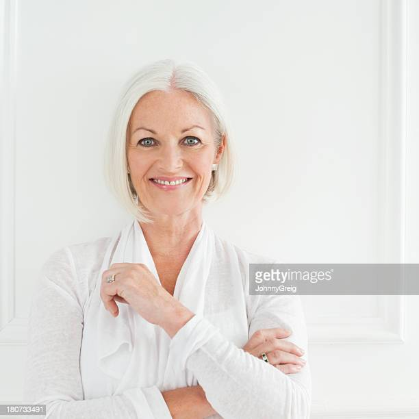 Elegant Mature Woman Portrait