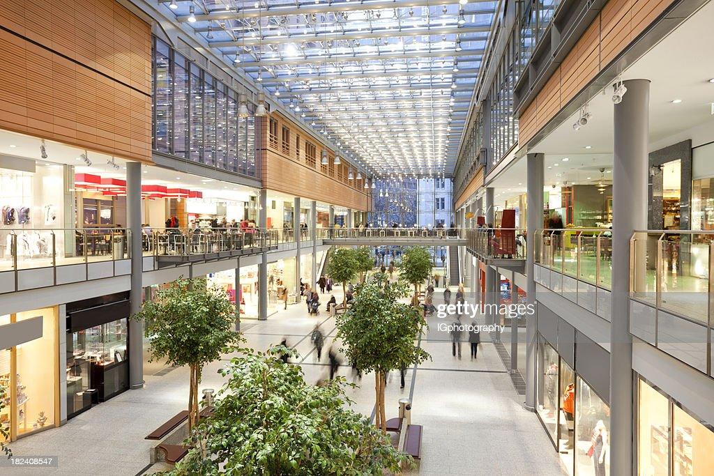 Elegant Shopping Mall : Stock Photo