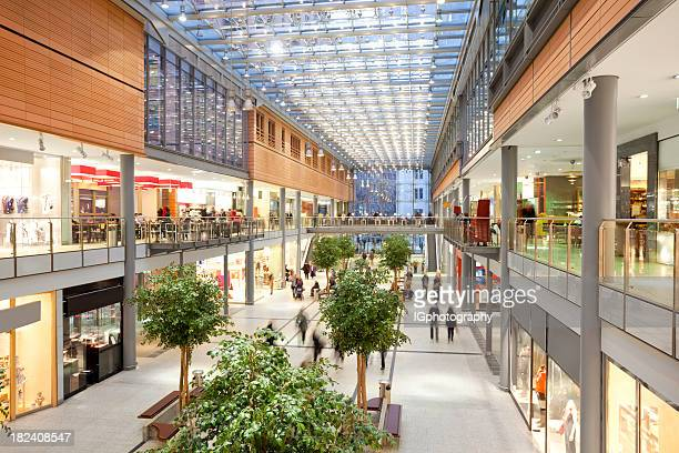 elegant shopping mall - berlin stock pictures, royalty-free photos & images