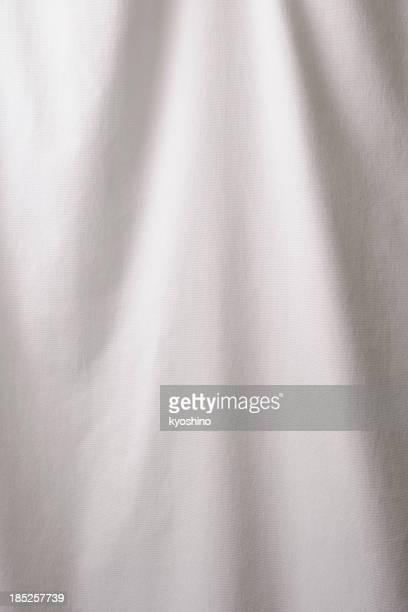 Élégant fond blanc, vue de près, texture de type toile