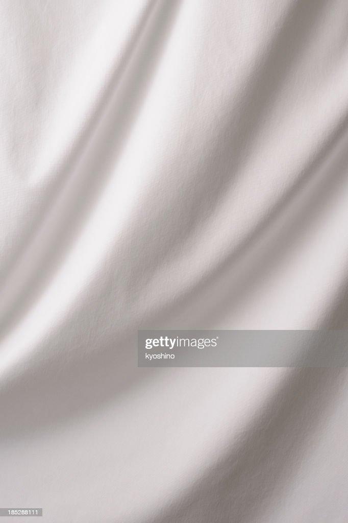 Elegant white drape texture background : Stock Photo
