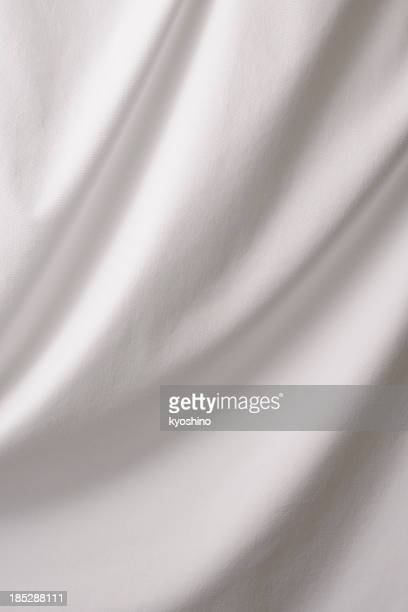 Elegant white drape texture background