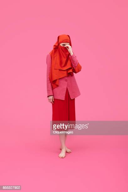 elegant woman in niqab - cliqueimages stock pictures, royalty-free photos & images