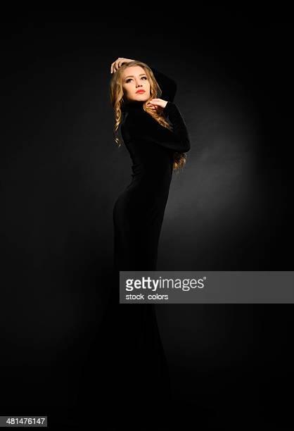 Elegante Frau