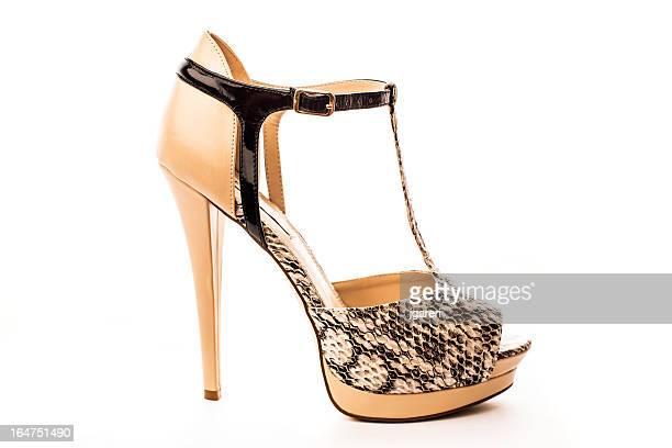 Élégante femme chaussures