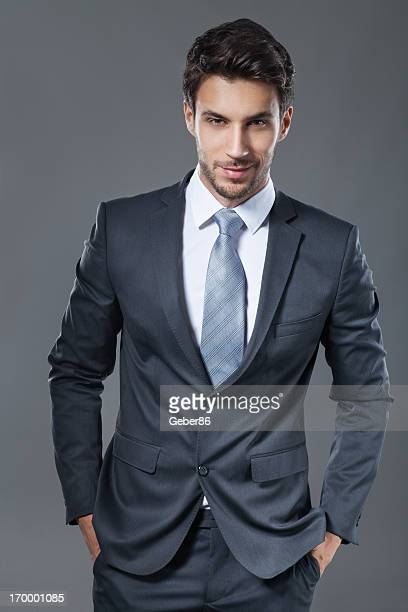 Elegant young businessman