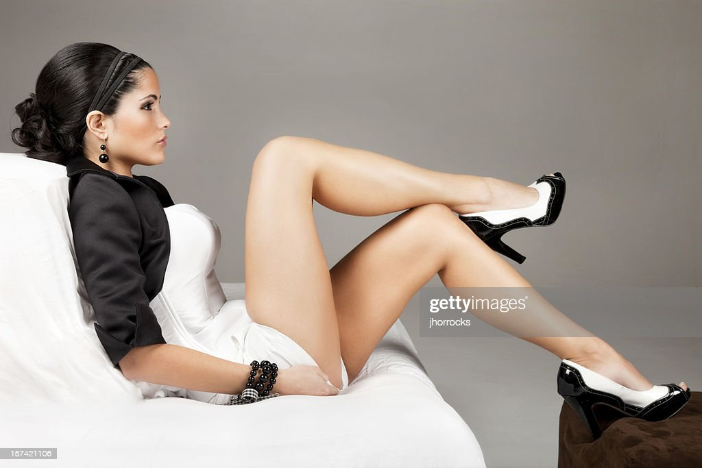 Elegantly Beautiful Latin Woman : Stock Photo