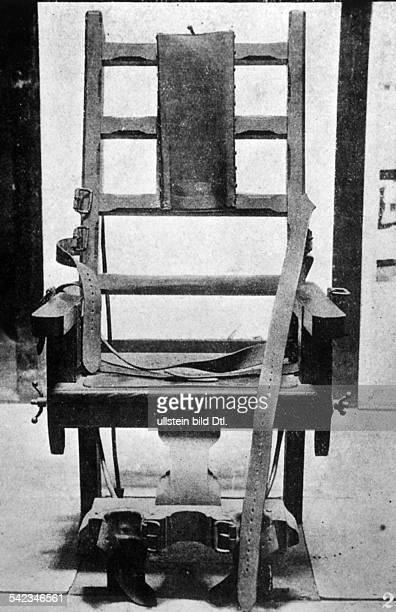 Elektrischer Stuhl 1929
