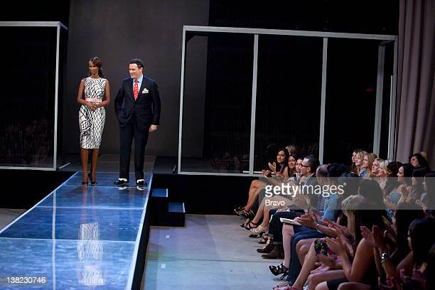 "Elemental Fashion"" Episode 209 -- Pictured: Host Iman, co-host Isaac Mizrahi"