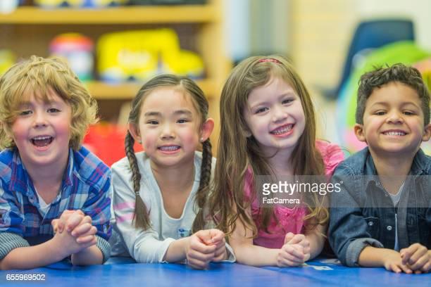 Elementary Children in Class