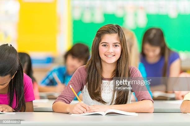 elementary parlamentarische bestuhlung - junior high stock-fotos und bilder