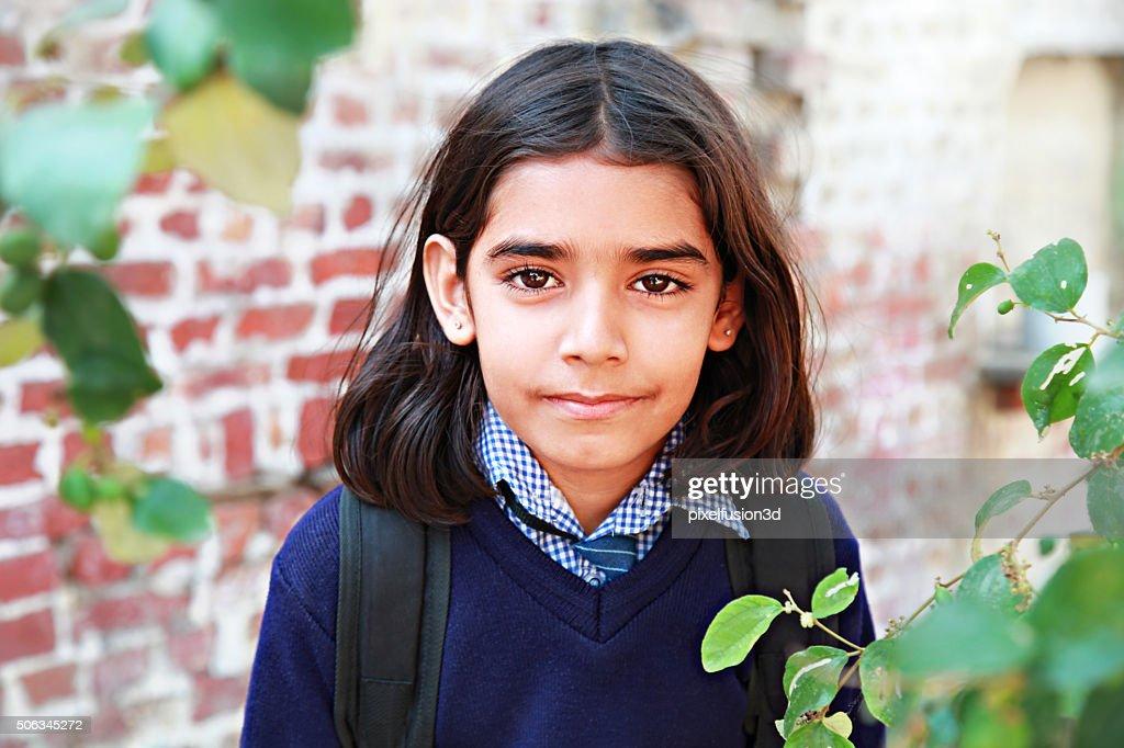 Elementary Student Portrait : Stock Photo