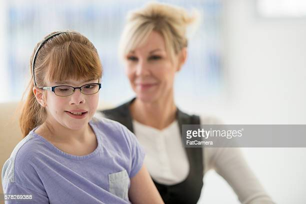 Elementary Student with Visual Impairment