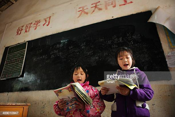 Elementary Students in Yang Mei Ling, Guilin, China