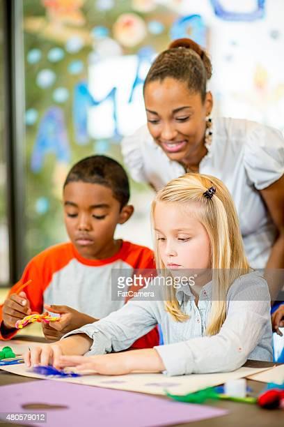 Primaire enseignant-Arts et travaux manuels